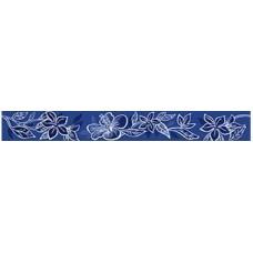 Бордюр KERLIFE Elissa Flore Blu 505х62 Керамическая плитка Kerlife