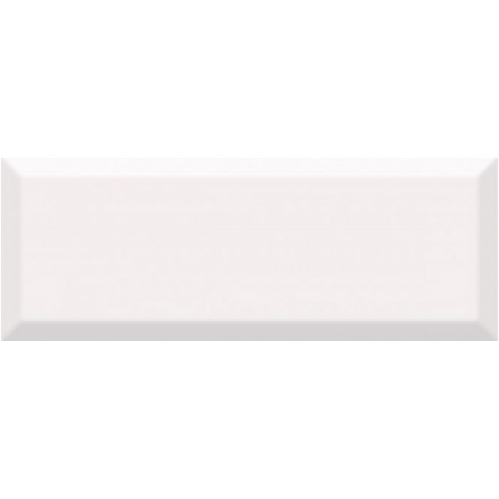 Плитка настенная KERAMA MARAZZI Вилланелла 400x150 белый грань 15075