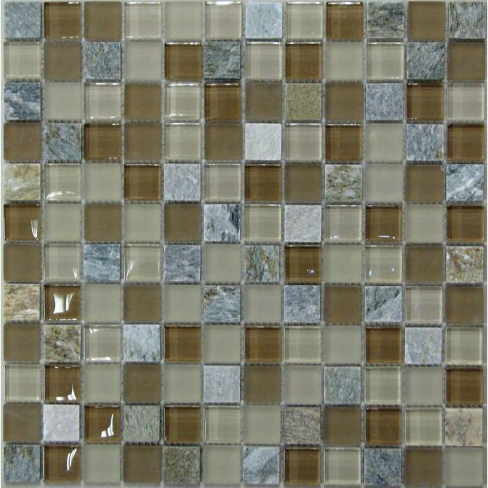 Стеклянная мозаика Free time-23 300х300