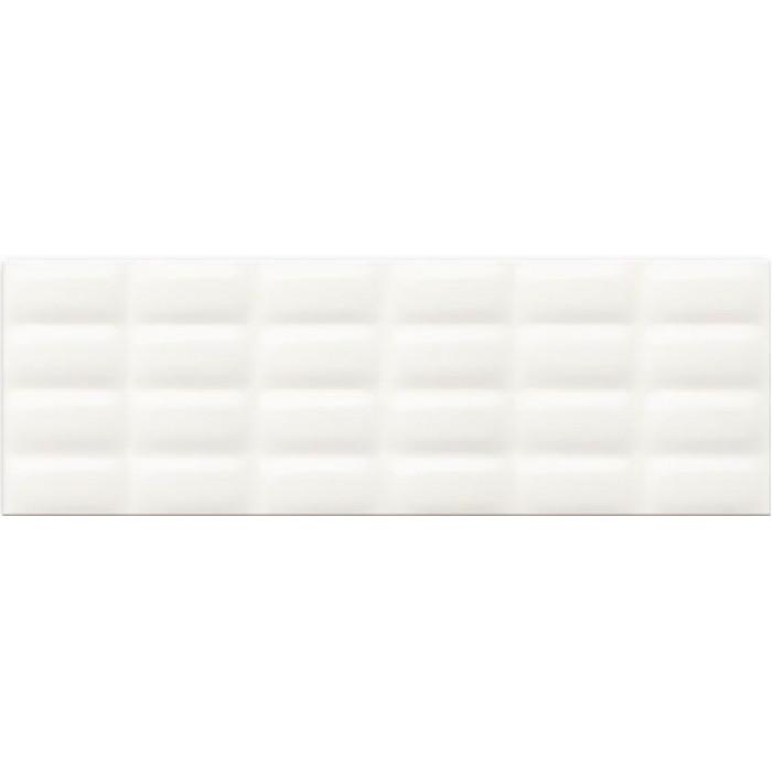Плитка настенная MEI Pret a Porter 750x250 White Magic pillow structure O-WHM-WTU052
