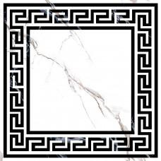 Декор GRASARO Marble Classic 400x400 Decor Snow White GT-270/d01