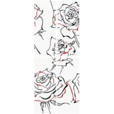 Панно KERLIFE Splendida Rosa 402х101 (комплект из 4 шт)