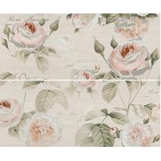 Панно GRACIA CERAMICA Garden Rose beige panno 01 600х500