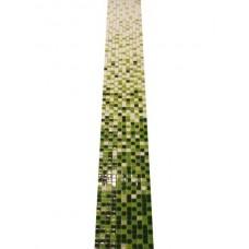 Мозаика стеклянная растяжка Jump Green
