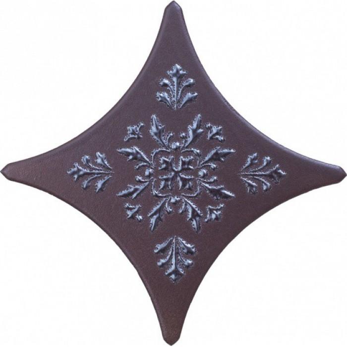 Керамогранит Gracia Ceramica Wood Stella brown border 03 110х110