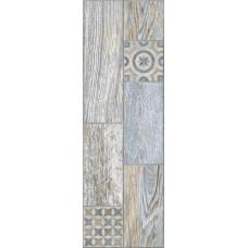 Керамогранит Lasselsberger Ceramics Индиго декор 199х603 голубой 3606-0028