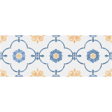 Плитка настенная KERAMA MARAZZI Сорренто 400x150 орнамент 15052