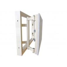 Стальной сантехнический люк под плитку К-3 200*200