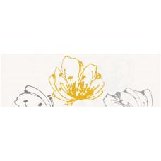 Декор PARADYZ Midian 600x200 giallo kwiat