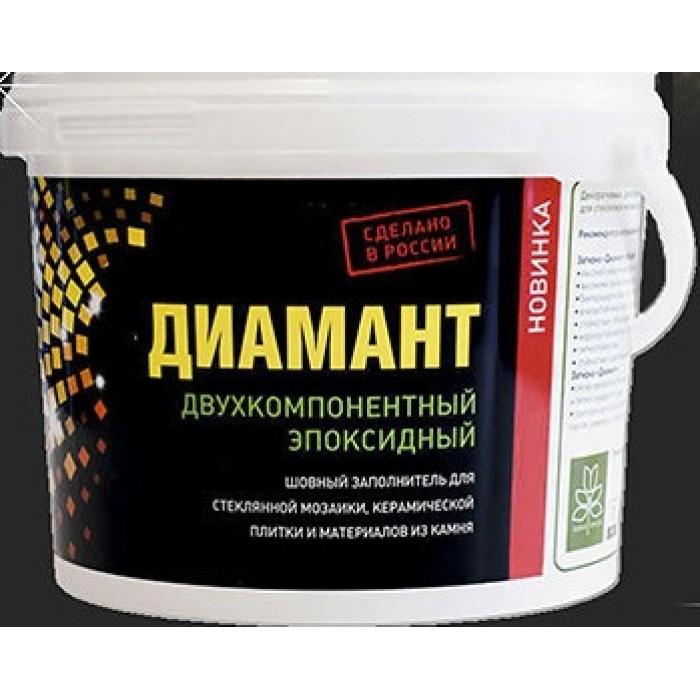 Затирка эпоксидная Диамант 005 1 кг серебристо-серый