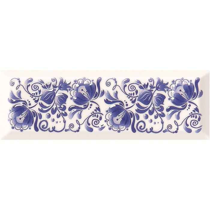 Декор Gracia Ceramica Metro Gzhel decor 02 100х300