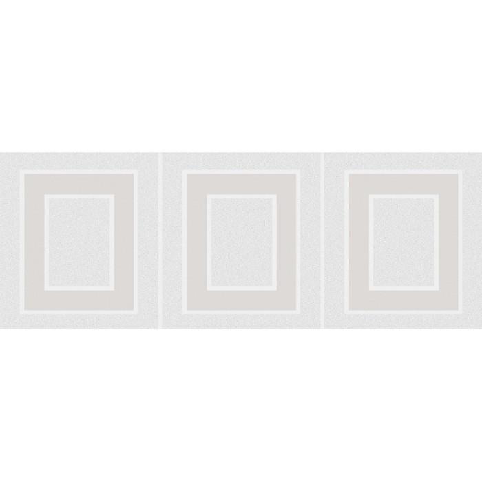 Декор KERAMA MARAZZI Вилланелла 400x150 геометрия белый MLD/A68/15000