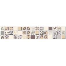 Бордюр AZORI Vento Mocca Mozaic 300х62