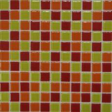 Стеклянная мозаика Fruit mix 300х300