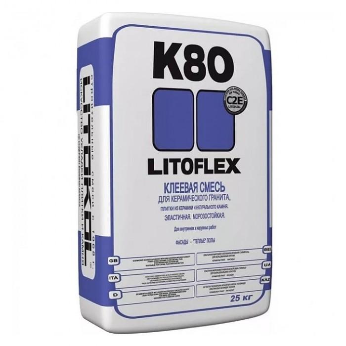 Клей LITOKOL Litoflex K80 25кг