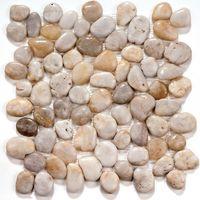 Мозаика из натурального камня White jack