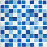 Стеклянная мозаика Blue Wave-3