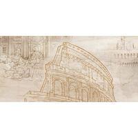 GOLDEN TILE Savoy Coliseum 600x300 декор 401361